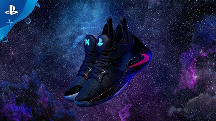 Sony y Paul George lanzan las zapatillas Nike PG-2 PlayStation Colorway