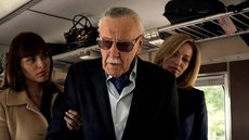 "Stan Lee, en una escena de ""cameo"" en la serie ""Marvel: Agents of Shield"""
