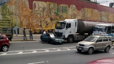 Accidente en Plaza Venezuela