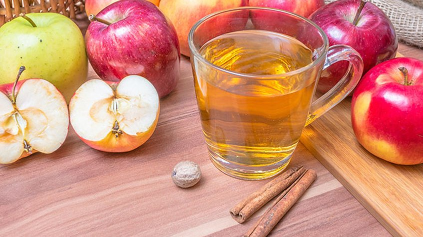 Eliminate the skin of your skin with apple cider vinegar