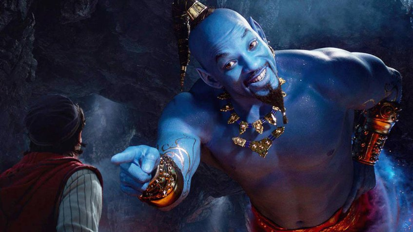 Will Smith genio de Aladdin Trailer oficial