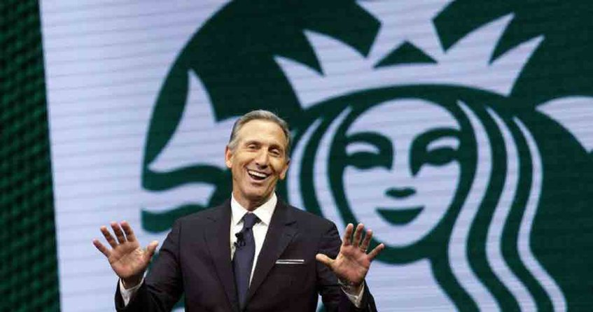 Howard Schultz, expresidente de Starbucks