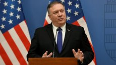 Secretario de Estado de EEUU, Mike Pompeo